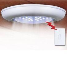 Stropná batériová LED lampa s diaľkovým vypínačom