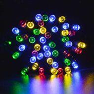 Svetelná diódová reťaz do exteriéru - 100 LED RGB