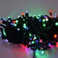 Svetelná diódová reťaz do interiéru - 100 LED RGB