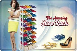 Ultraľahký botník až na 30 párov topánok