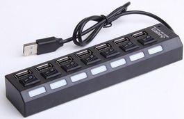 USB rozbočovač 2.0 7 portov