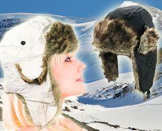 Ušianka-extra teplá zimná čiapka