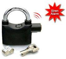 Visiaci zámok s alarmom - Alarm Lock 110db
