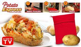 Vrecko na super rýchle pečenie zemiakov Potato Express