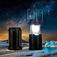 Vysokovýkonný solárny kempingový lampáš
