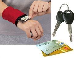 Wrist Wallet sada peňaženiek na zápästie 3ks