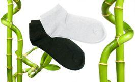 Zdravotné členkové bambusové ponožky - 5 párov