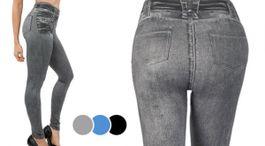 Zoštíhľujúce džínsové legíny Slim' n Lift Caresse Jeans