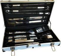 BBQ Grilovacie náradie v kufríku - 10 ks