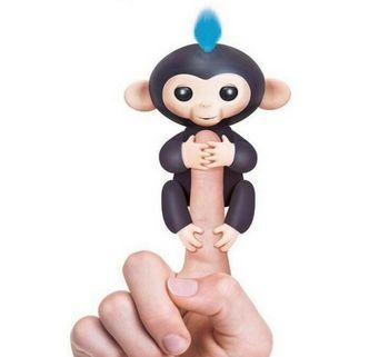 Interaktívna opička Happy Monkey - Fingerlings