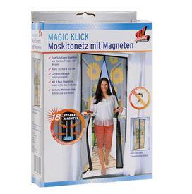 Magnetická sieťka na dvere 210 cm so slnečnicami