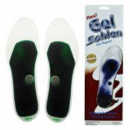 Magnetické gélové vložky do topánok zelené