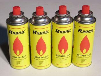 Náhradné kartuše pre plynový varič - 4ks