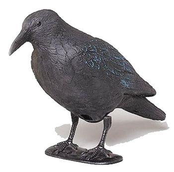 Plašič vtákov - maketa havrana