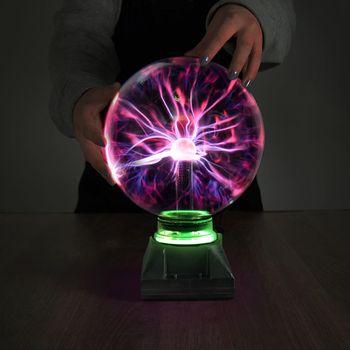 Veľká plazmová guľa s bleskami 20cm