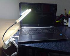 Prenosné USB LED svetlo s klipom