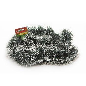 Vianočná girlanda - zasnežené ihličie