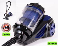 Výkonný Cyklón-bezvreckový super vysávač ITO 2400 W modrý